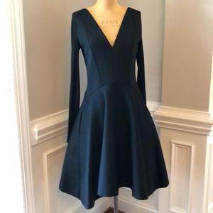 Donna Karan New York black long sleeve dress